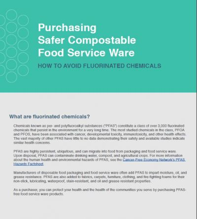 A Guide to Purchasing PFAS-Free Food Service Ware image